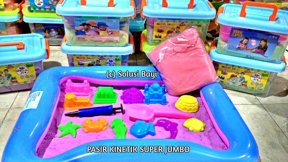 PASIR KINETIK SUPER JUMBO 2KG PLAYSAND KINETIC SAND 2