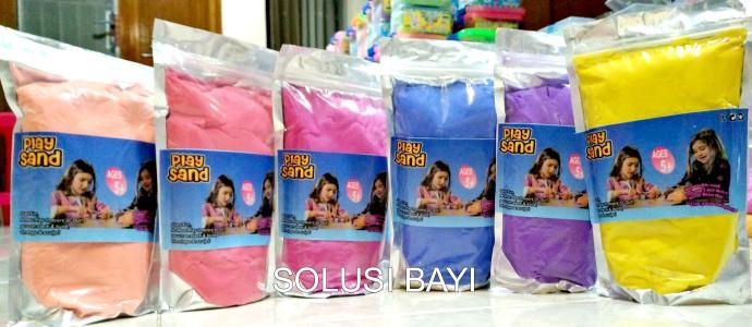pasir kinetik solusi bayi refill 1 kg mainan edukatif anak playsand kinetic sand isand motion sand jual murah grosir toko online 1