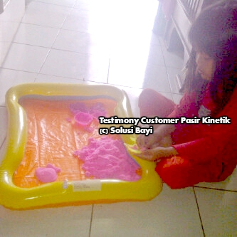 Testimony Customer pasir Kinetik Playsand Kinetic Sand Motion Sand Isand Model Sand Solusi Bayi 2