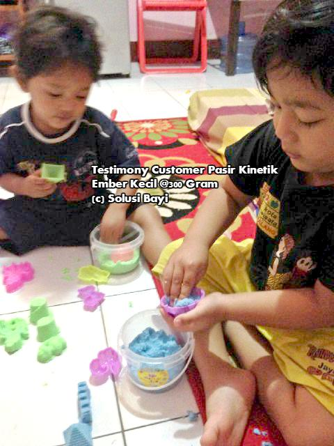 Testimony Customer pasir Kinetik Playsand Kinetic Sand Motion Sand Isand Model Sand Solusi Bayi 3