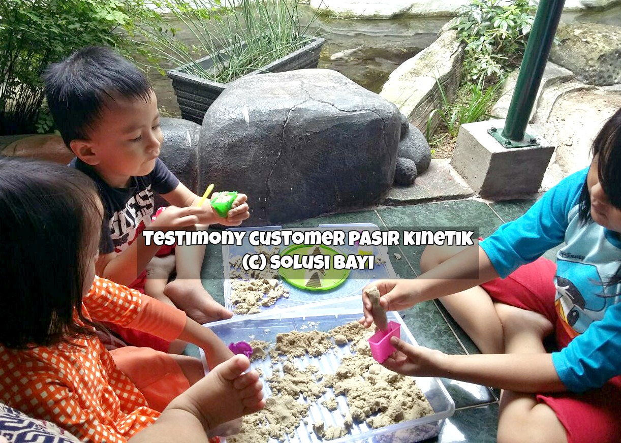 testimony customer pasir kinetik kinetic sand jual mainan edukatif anak mei 2016 part 3