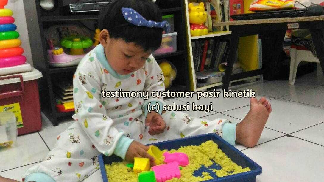 testimony customer pasir kinetik kinetic sand jual mainan edukatif anak mei 2016
