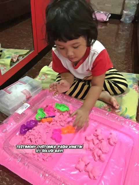 testimony customer www.pasirkinetik.com solusi bayi mainan edukatif anak pasir kinetik super jumbo kinetic sand playsand model sand motion sand isand 14